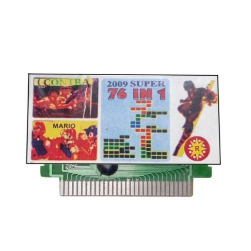 Ptcmart 8 Bit Tv Video Games Cassette 76 Games Are Included