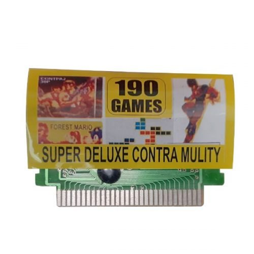 Ptcmart 8 Bit Tv Video Games Cassette Contra And Many More Games Are Included
