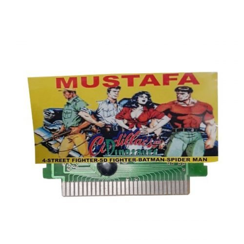 Ptcmart 8 Bit Tv Video Games Cassette SD Fighter And Many More Games Are Included