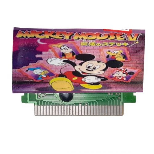 Ptcmart 8 Bit Tv Video Games Cassette Mickey Mouse And Many More Games Are Included