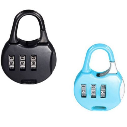 Number Padlock high quality With this Luggage Lock, you can set your own combination set-of-2