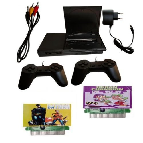 8 BitTv Video Game Gaming Console with 2 chips like Batman_Urbanchamp