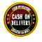 CASH ON DELIVERY LABLE
